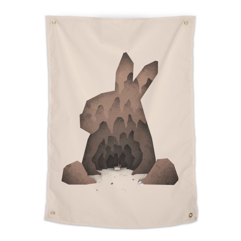 That's No Ordinary Rabbit Home Tapestry by boney's Artist Shop
