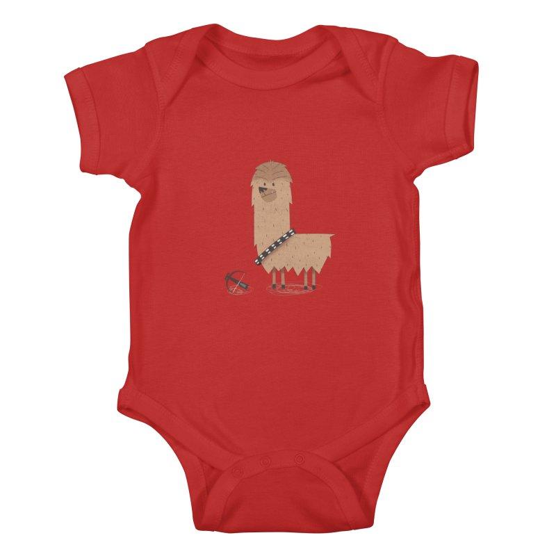 Chewpaca Kids Baby Bodysuit by boney's Artist Shop