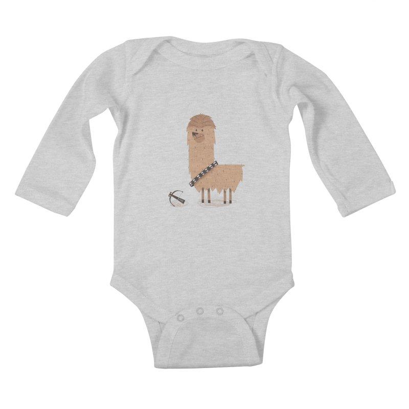 Chewpaca Kids Baby Longsleeve Bodysuit by boney's Artist Shop