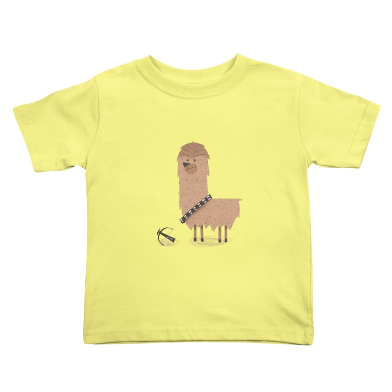 Chewpaca Kids Toddler T-Shirt by boney's Artist Shop