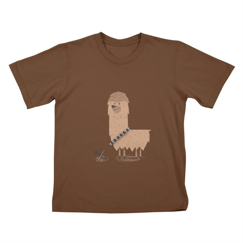 Chewpaca Kids T-Shirt by boney's Artist Shop