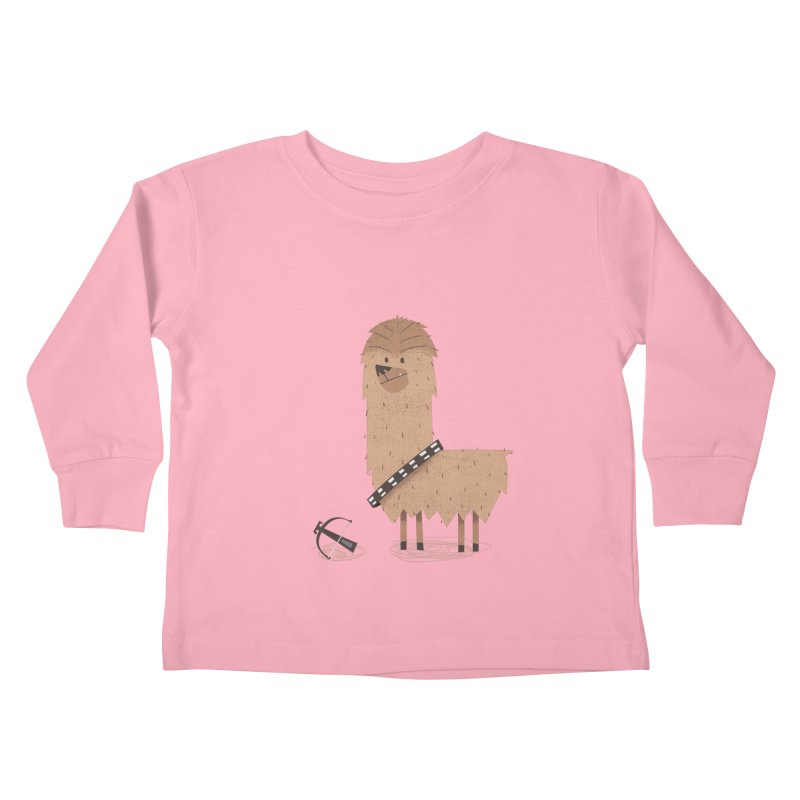 Chewpaca Kids Toddler Longsleeve T-Shirt by boney's Artist Shop