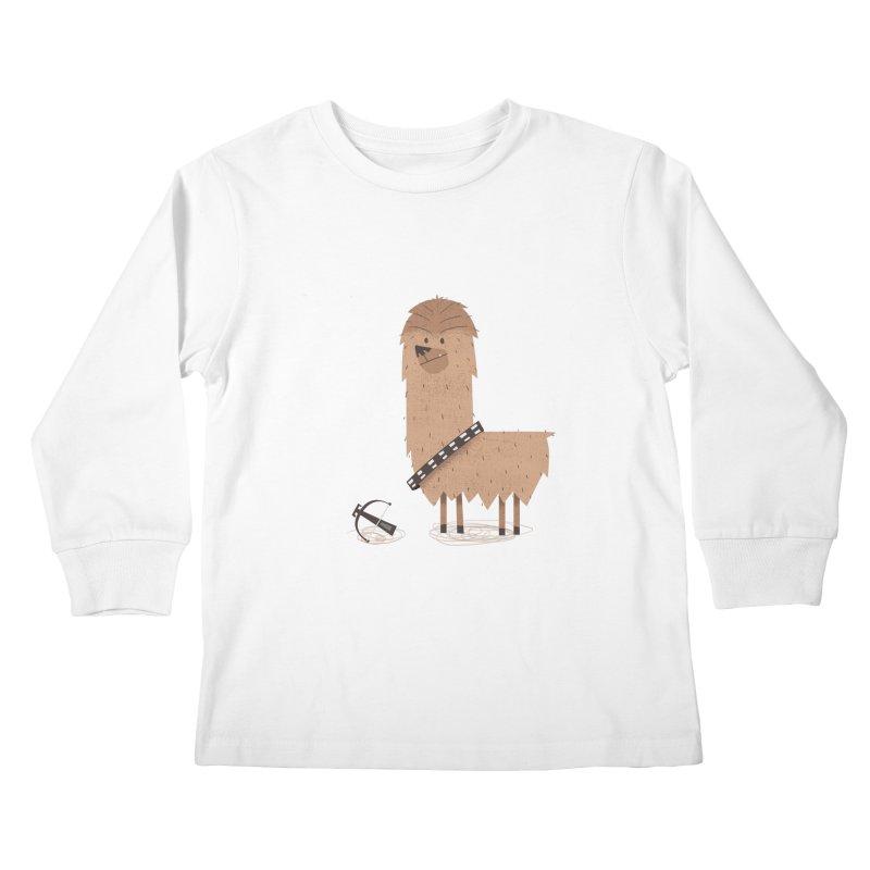 Chewpaca Kids Longsleeve T-Shirt by boney's Artist Shop