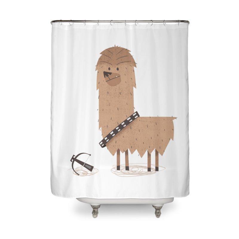 Chewpaca Home Shower Curtain by boney's Artist Shop