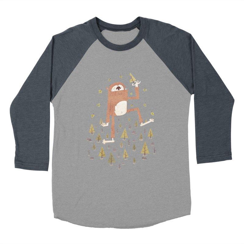 Sasquatch Salad Women's Baseball Triblend T-Shirt by boney's Artist Shop