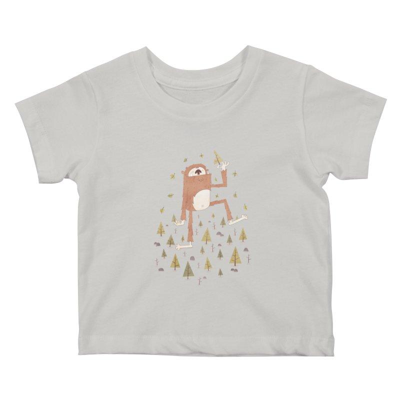 Sasquatch Salad Kids Baby T-Shirt by boney's Artist Shop