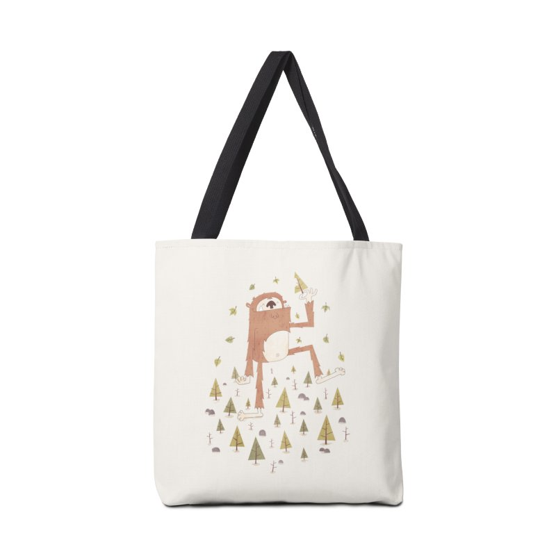 Sasquatch Salad Accessories Bag by boney's Artist Shop