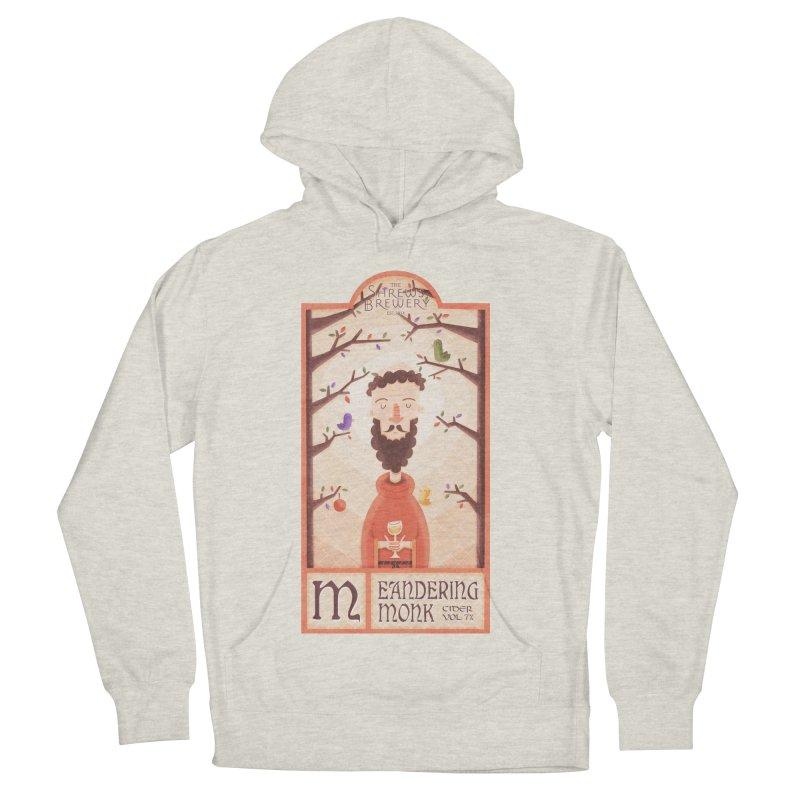 Meandering Monk Men's Pullover Hoody by boney's Artist Shop