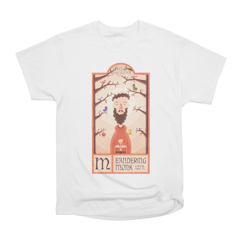Meandering Monk Men's Classic T-Shirt by boney's Artist Shop