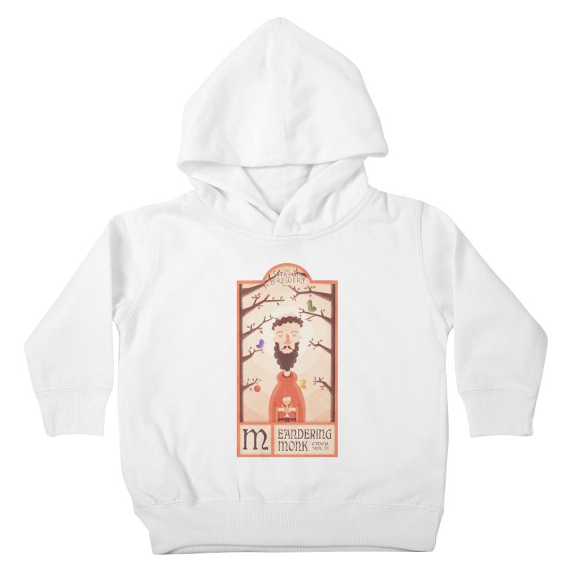 Meandering Monk Kids Toddler Pullover Hoody by boney's Artist Shop