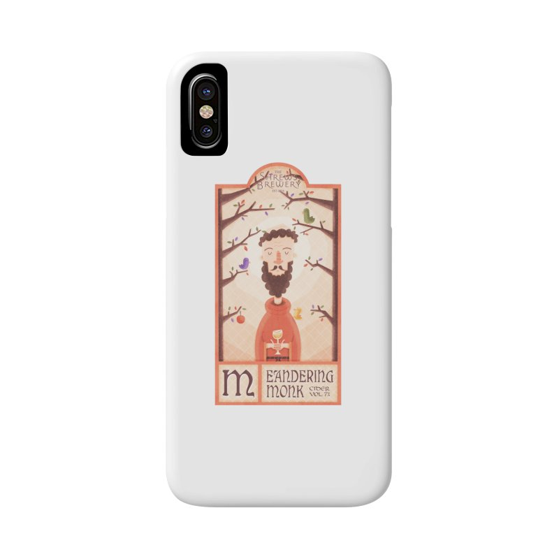 Meandering Monk Accessories Phone Case by boney's Artist Shop