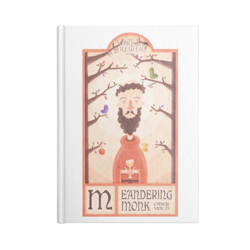 Meandering Monk Accessories Notebook by boney's Artist Shop