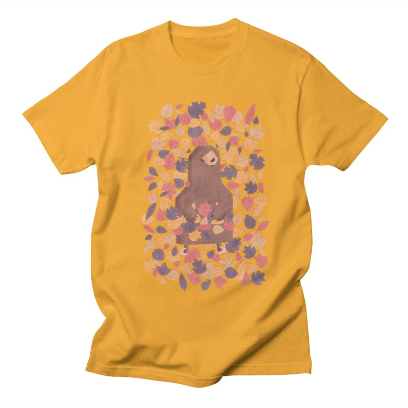 Leaf the Bear Alone He's Hibernating Women's Unisex T-Shirt by boney's Artist Shop