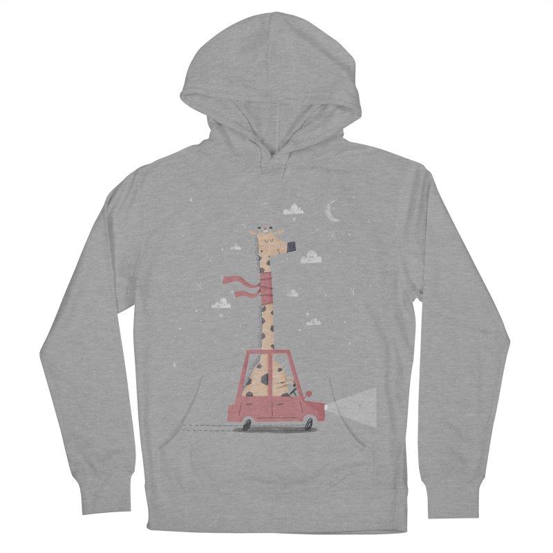 Giraffing Home for Christmas Women's Pullover Hoody by boney's Artist Shop