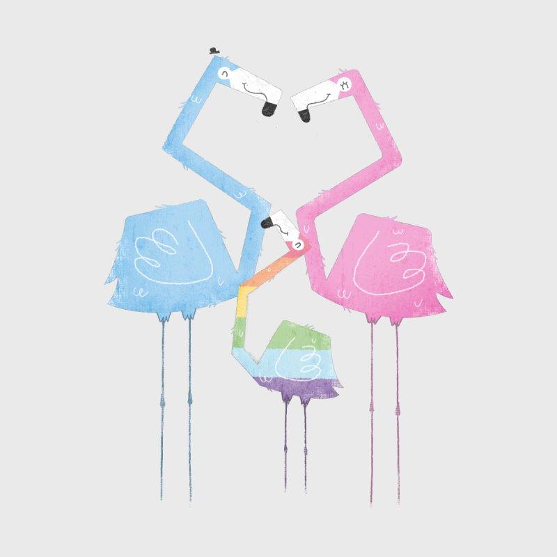 A Fabulous Family of Flamingos (Gay Pride) by boney's Artist Shop