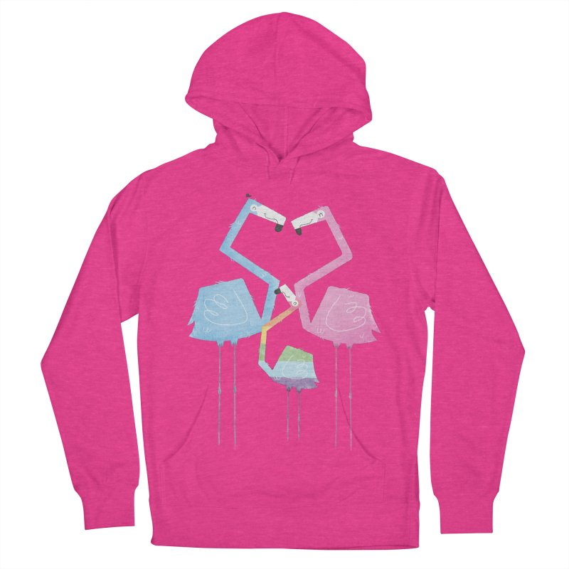 A Fabulous Family of Flamingos (Gay Pride) Women's Pullover Hoody by boney's Artist Shop
