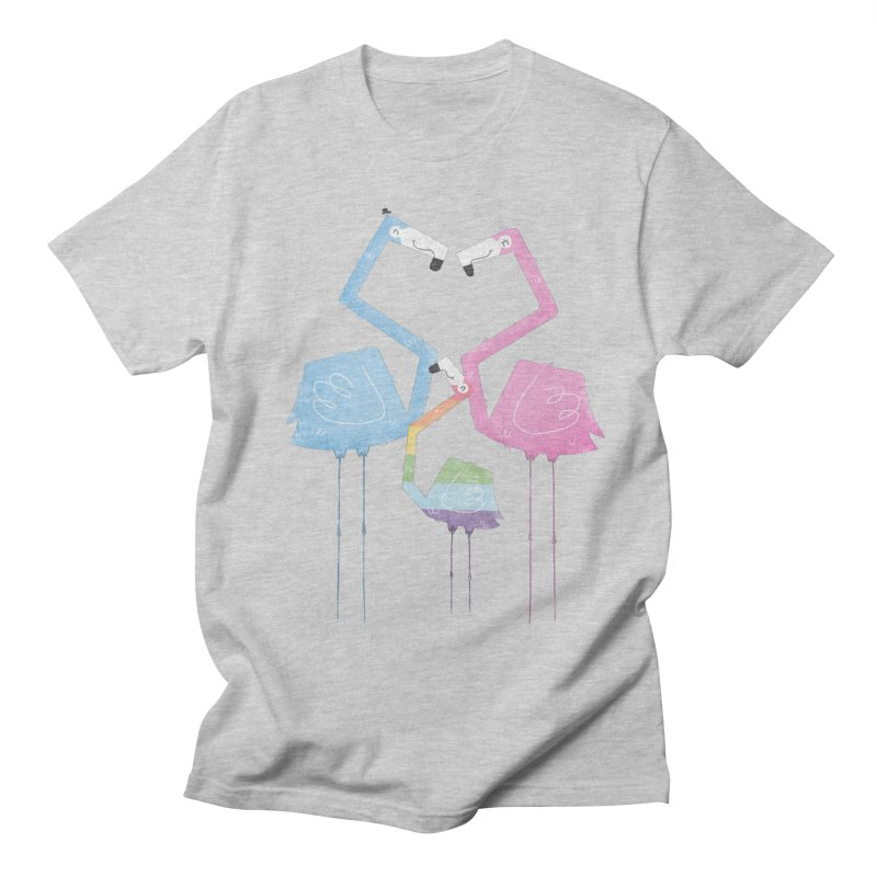 A Fabulous Family of Flamingos (Gay Pride) Women's Unisex T-Shirt by boney's Artist Shop
