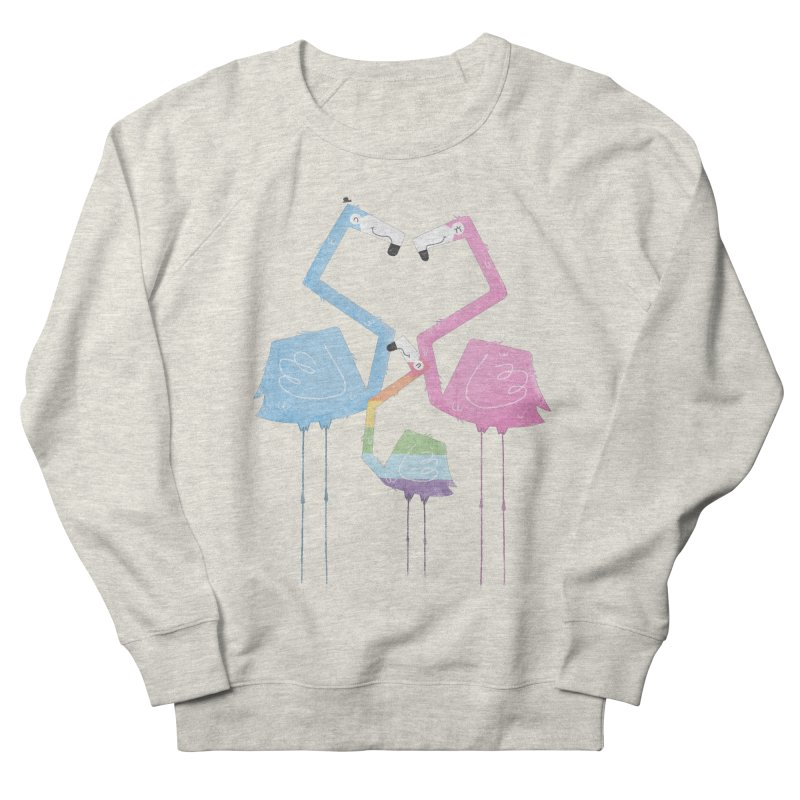 A Fabulous Family of Flamingos (Gay Pride) Men's Sweatshirt by boney's Artist Shop