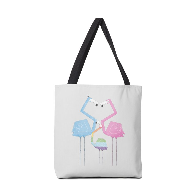 A Fabulous Family of Flamingos (Gay Pride) Accessories Bag by boney's Artist Shop