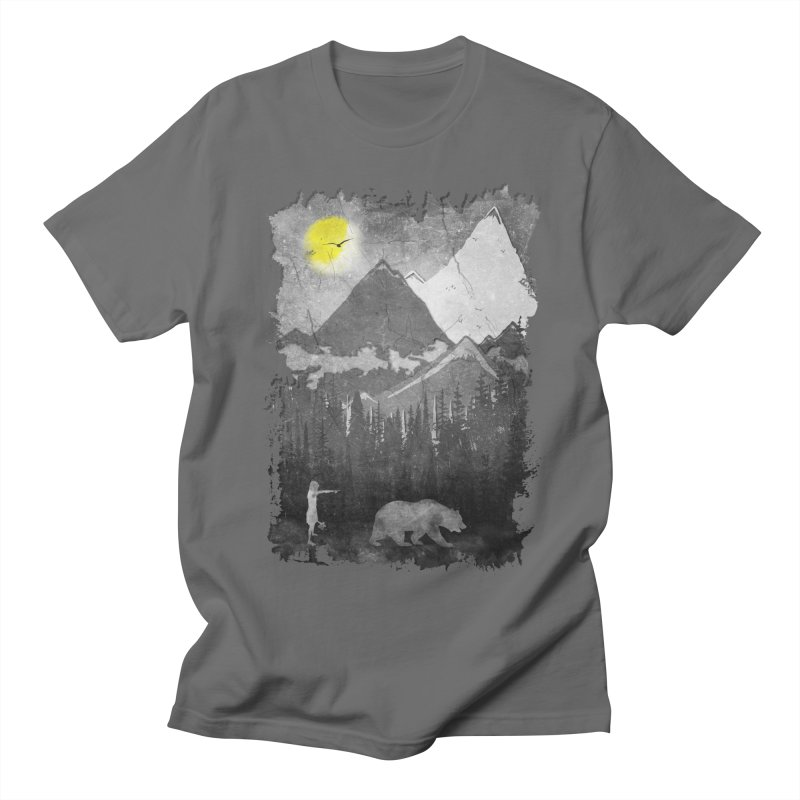 From The Mountains Men's T-Shirt by bongonation's Artist Shop
