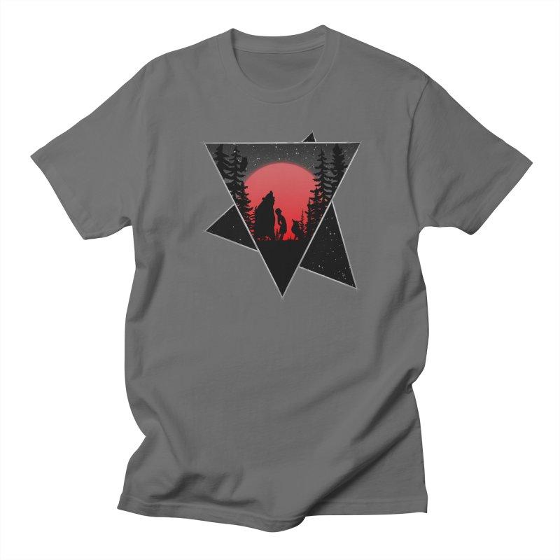 Moon Friends Men's T-Shirt by bongonation's Artist Shop