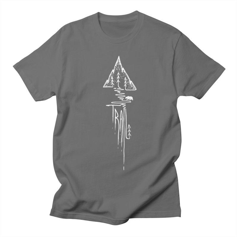Trail Men's T-Shirt by bongonation's Artist Shop