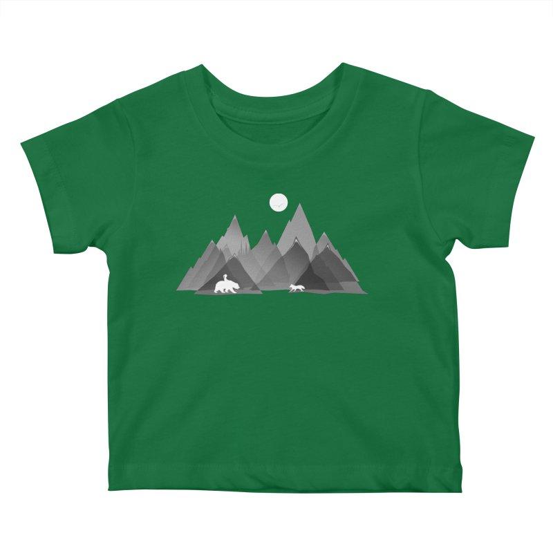 Moutans Friends Kids Baby T-Shirt by bongonation's Artist Shop