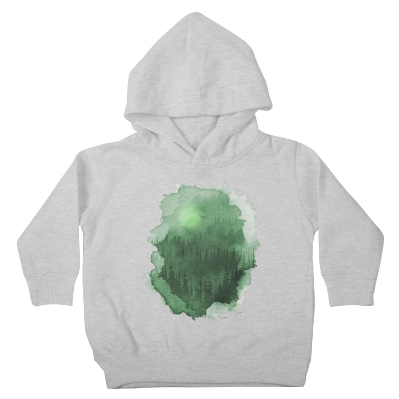 Mist Forest Kids Toddler Pullover Hoody by bongonation's Artist Shop