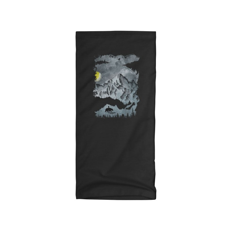 Moon Hike Accessories Neck Gaiter by bongonation's Artist Shop