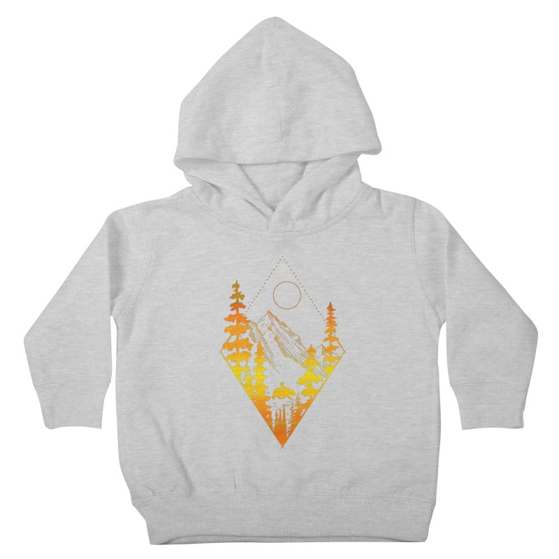 From The Mountains Kids Toddler Pullover Hoody by bongonation's Artist Shop