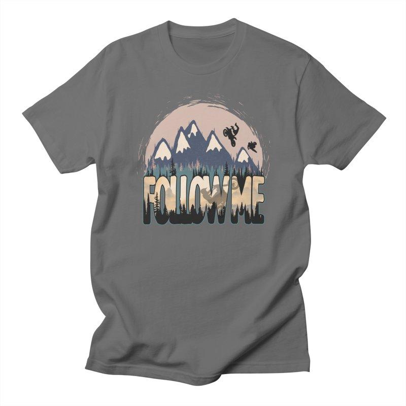 Follow Me Men's T-Shirt by bongonation's Artist Shop