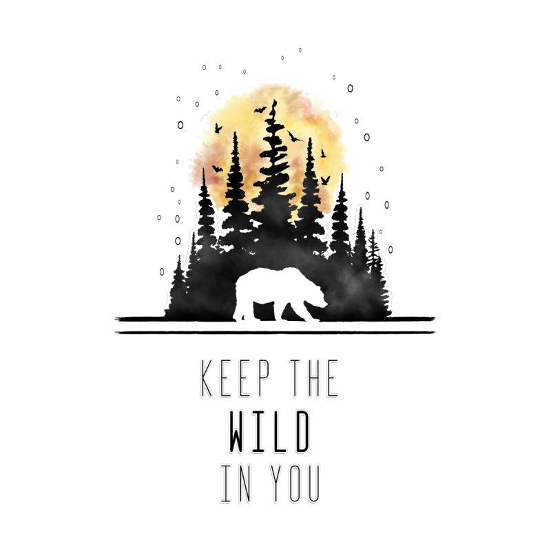 Keep The Wild Men's T-Shirt by bongonation's Artist Shop