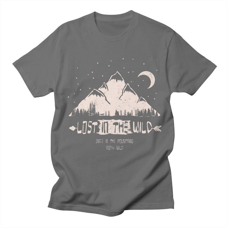 Lost Men's T-Shirt by bongonation's Artist Shop