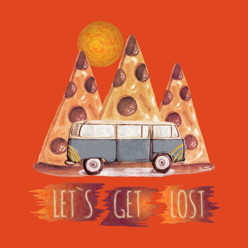 Lost Pizza Men's T-Shirt by bongonation's Artist Shop