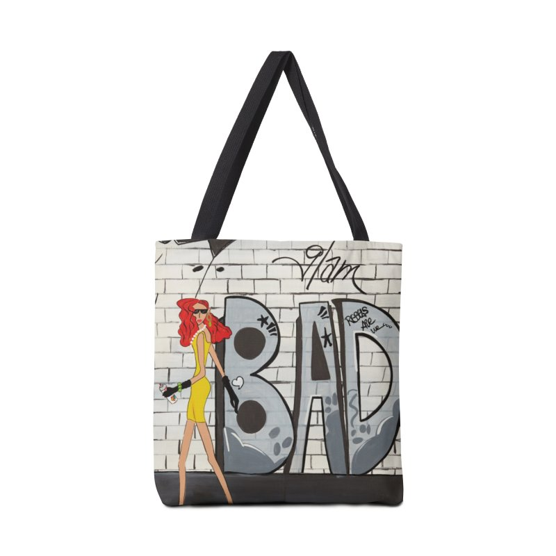 Glam BAD Accessories Tote Bag Bag by Bonnie Donaghy Art