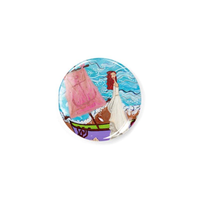 Natalia Accessories Button by Bonnie Donaghy Art