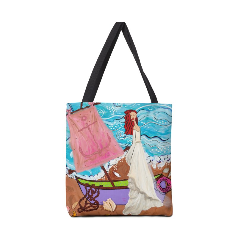 Natalia Accessories Tote Bag Bag by Bonnie Donaghy Art
