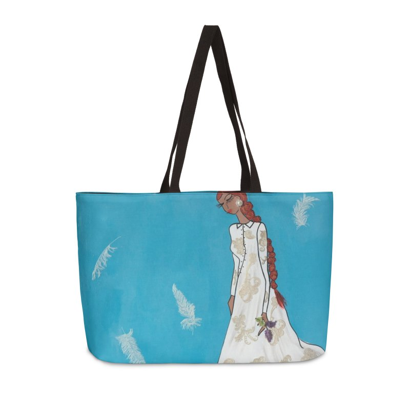 Hope Accessories Weekender Bag Bag by Bonnie Donaghy Art