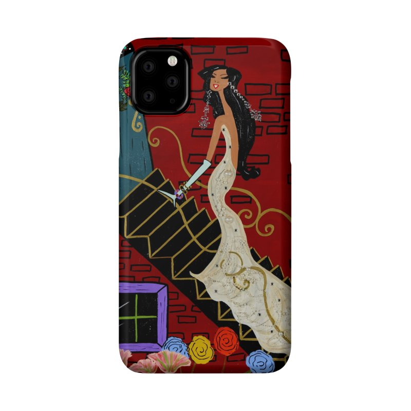 Evening in Paris Accessories Phone Case by Bonnie Donaghy Art