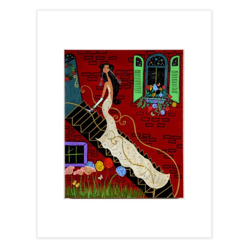 Evening in Paris Home Fine Art Print by Bonnie Donaghy Art