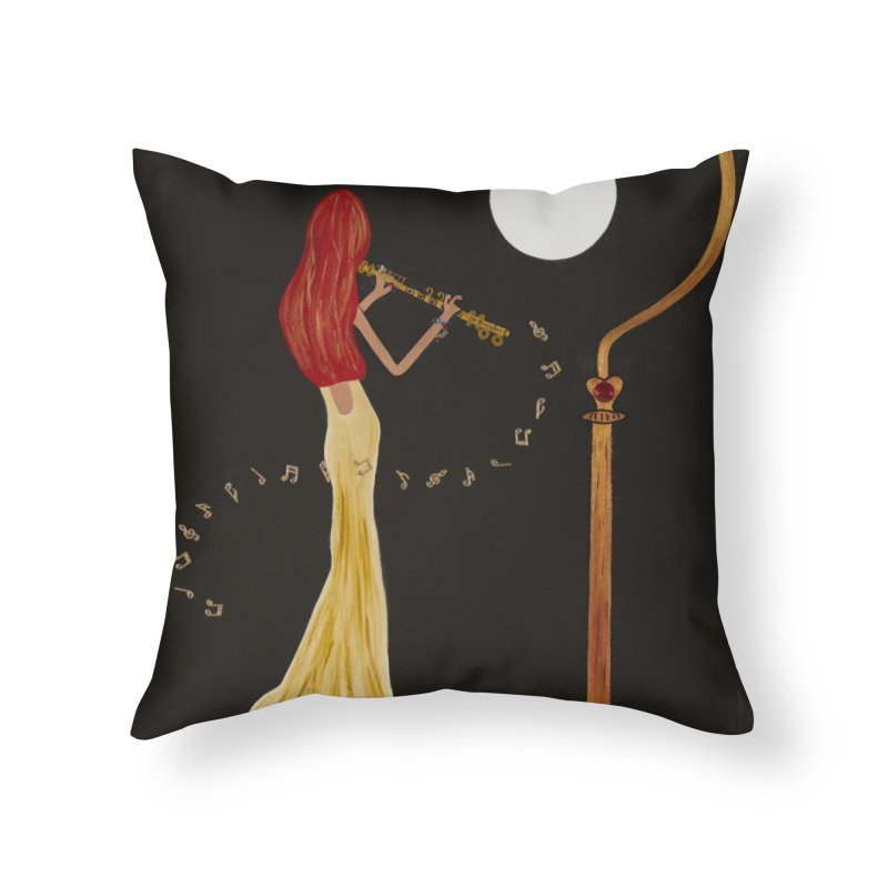 Soloist 2 Home Throw Pillow by Bonnie Donaghy Art