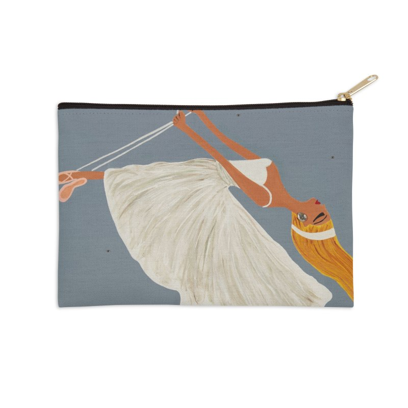 Bette Accessories Zip Pouch by Bonnie Donaghy Art