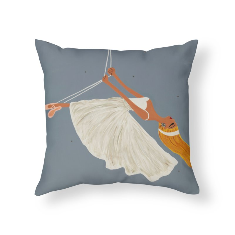 Bette Home Throw Pillow by Bonnie Donaghy Art