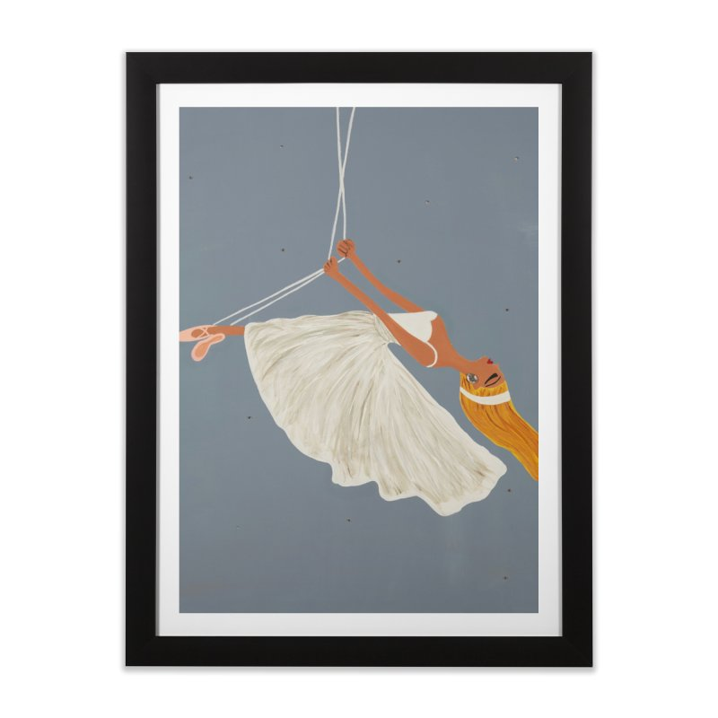 Bette Home Framed Fine Art Print by Bonnie Donaghy Art