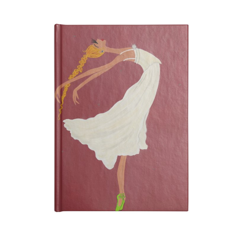 Arabella Accessories Lined Journal Notebook by Bonnie Donaghy Art