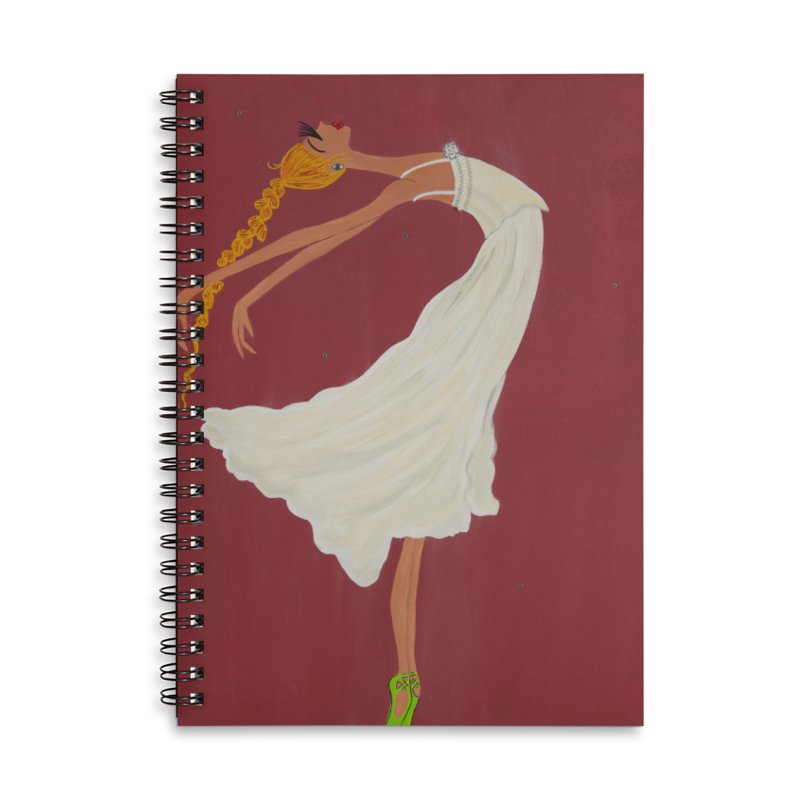 Arabella Accessories Notebook by Bonnie Donaghy Art