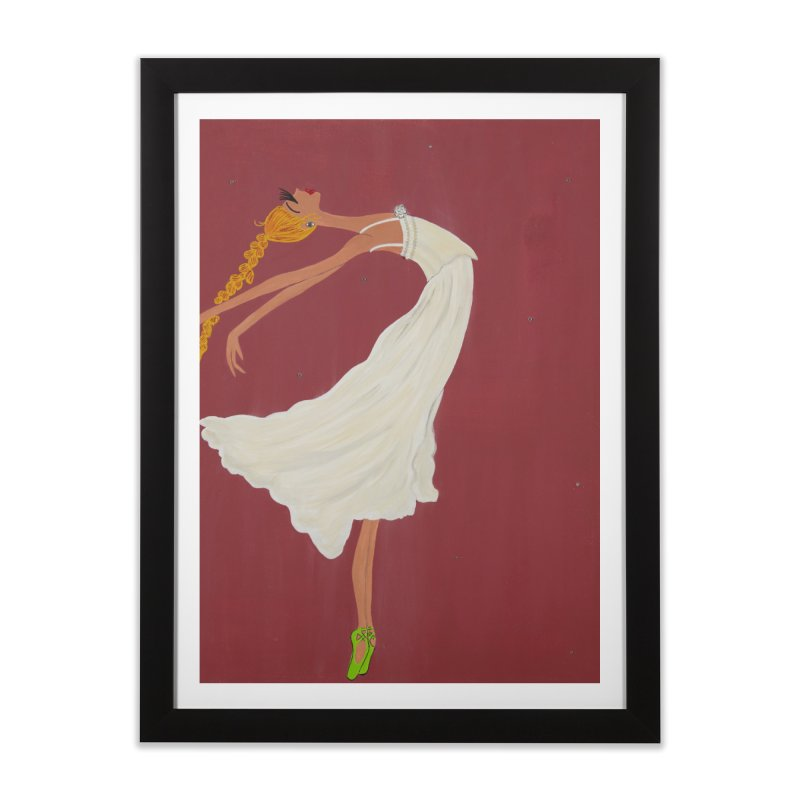 Arabella Home Framed Fine Art Print by Bonnie Donaghy Art