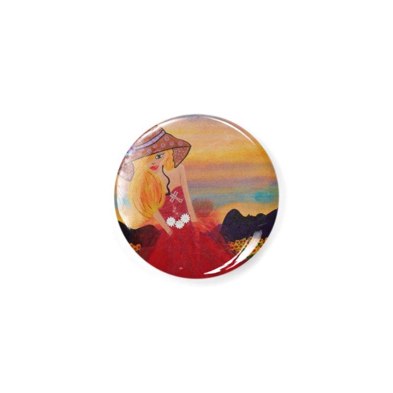 Gypsy Soul Accessories Button by Bonnie Donaghy Art