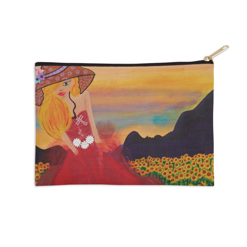 Gypsy Soul Accessories Zip Pouch by Bonnie Donaghy Art