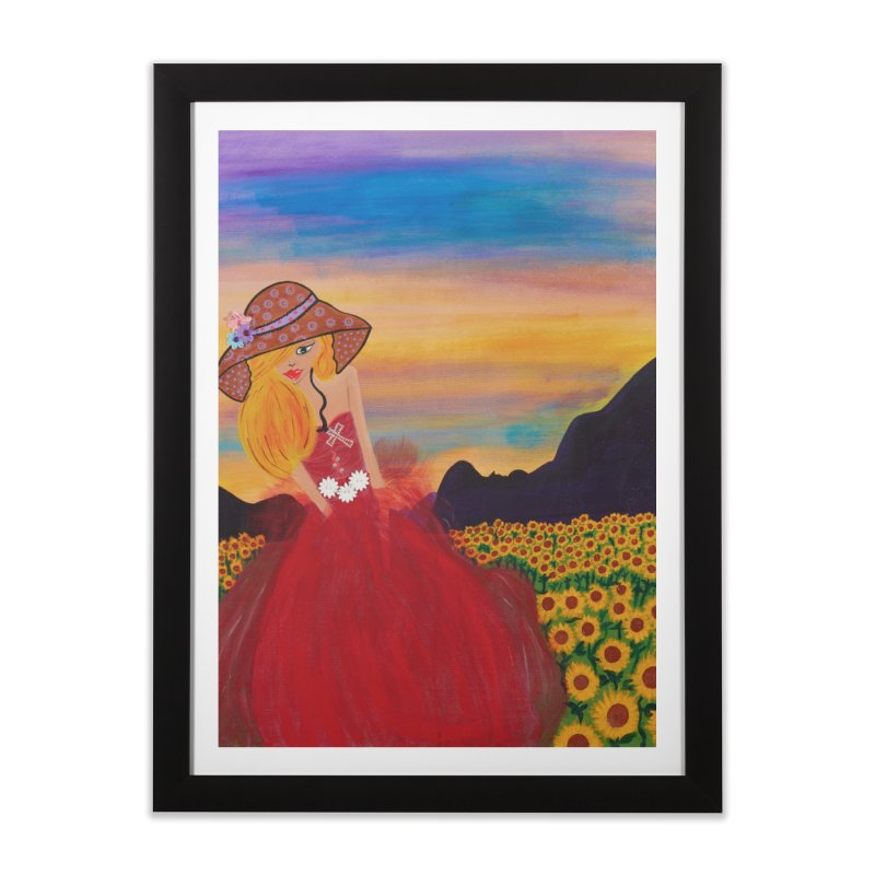 Gypsy Soul Home Framed Fine Art Print by Bonnie Donaghy Art
